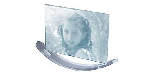 מעמד אקריל זכוכית נדנדה + הדפסה על המוצר