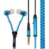 Zipper earphones