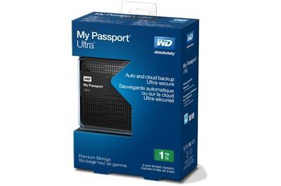 WD 1TB Black My Passport Ultra