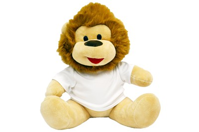 אריה יושב בגדלים שונים + הדפסה על החולצה