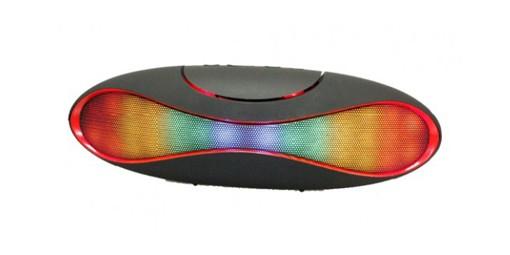 רמקול בלוטוס נייד עם אור צבעוני