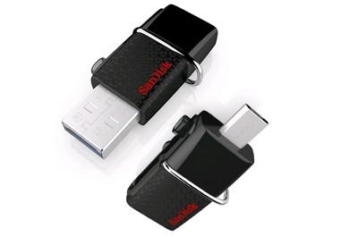 דיסק און קי + חיבור מיקרו SanDisk ULTRA Android Dual Drive 32GB USB3