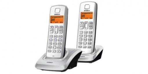 טלפון אלחוטי + 2 שלוחות 1360-2 Uniden