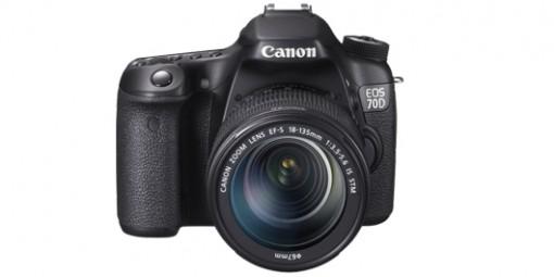 CANON EOS 70D + 18-135 מצלמה