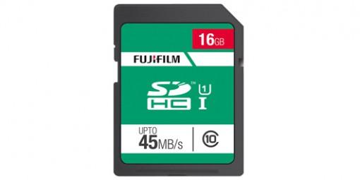 כרטיס זיכרון 16GB class10 Fujifilm