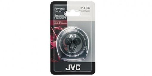 אוזניות כפתור איכותיות JVC