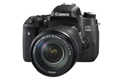 מצלמה Canon EOS 760D + 18-135mm