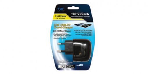 מטען ראש חשמל USB 2.1A