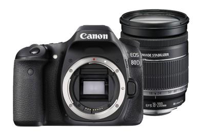 CANON EOS 80D + 18-200mm מצלמה