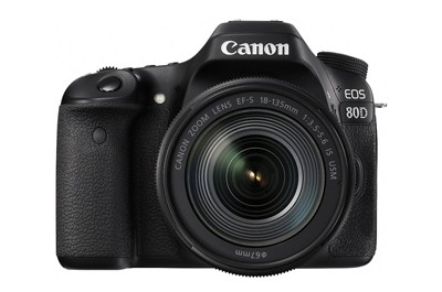 CANON EOS 80D + 18-135mm מצלמה