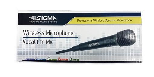 מיקרופון אלחוטי SIGMA FM