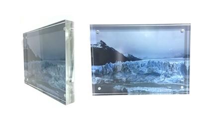 תמונה בתוך זכוכית עבה איכותית + הדפסת התמונה