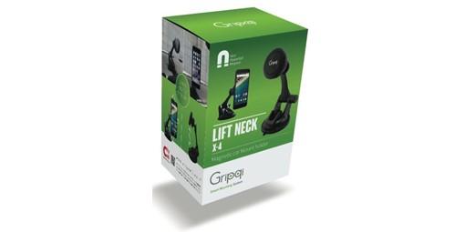 מעמד מגנטי לרכב Gripqi Lift Neck X4