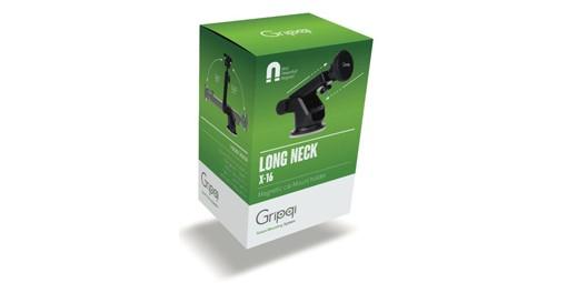 מעמד מגנטי לרכב Gripqi Long Neck X16
